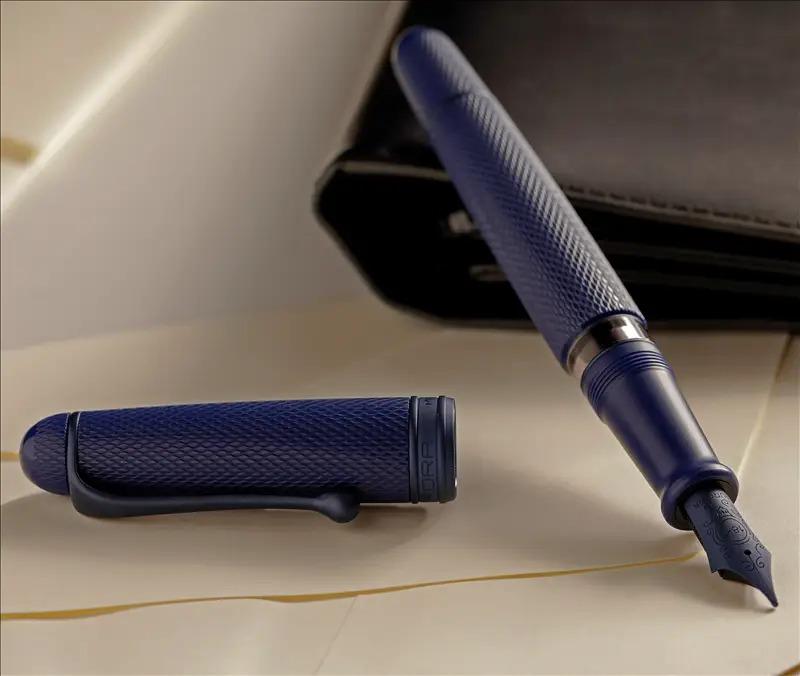 アウロラ 限定生産品 88 ブルーマンバ 万年筆