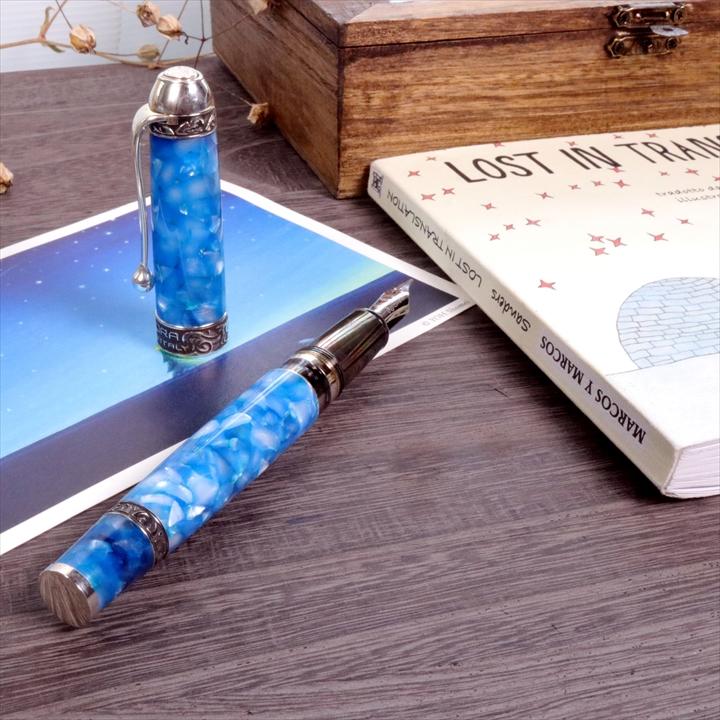 アウロラ 限定生産品 オチェアーノ アンタールティコ(南極海) 万年筆