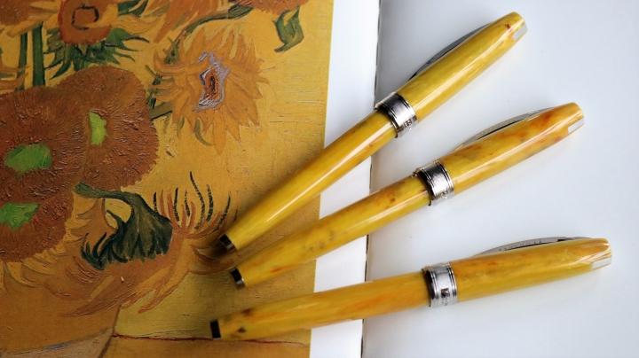 ビスコンティ ヴァンゴッホ コレクション ひまわり 万年筆