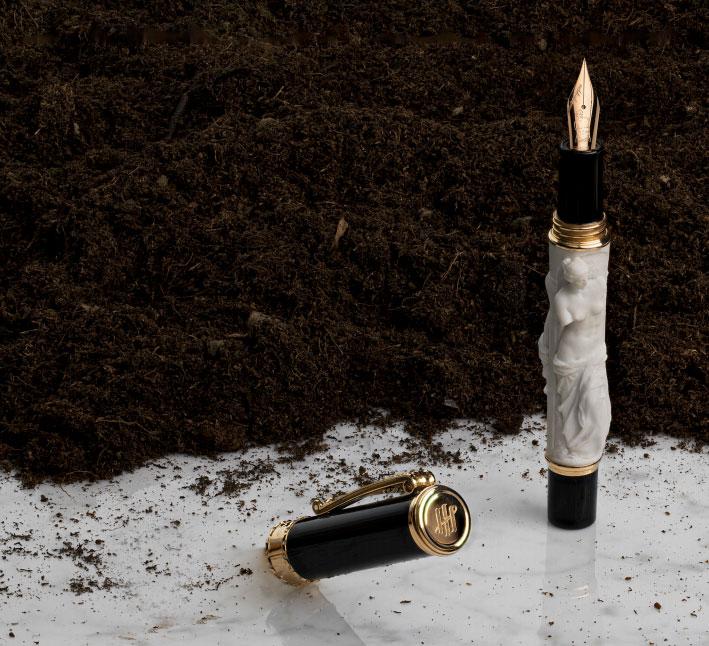 モンテグラッパ 限定生産品 ミロのビーナス 万年筆
