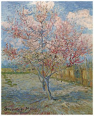 ゴッホ桃の木