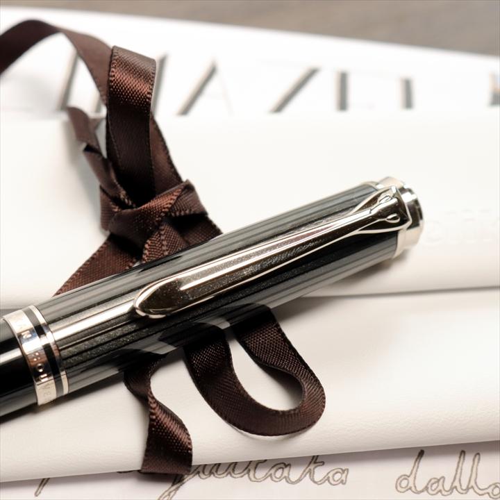 ペリカン スーベレーン K805 ブラックストライプ ボールペン