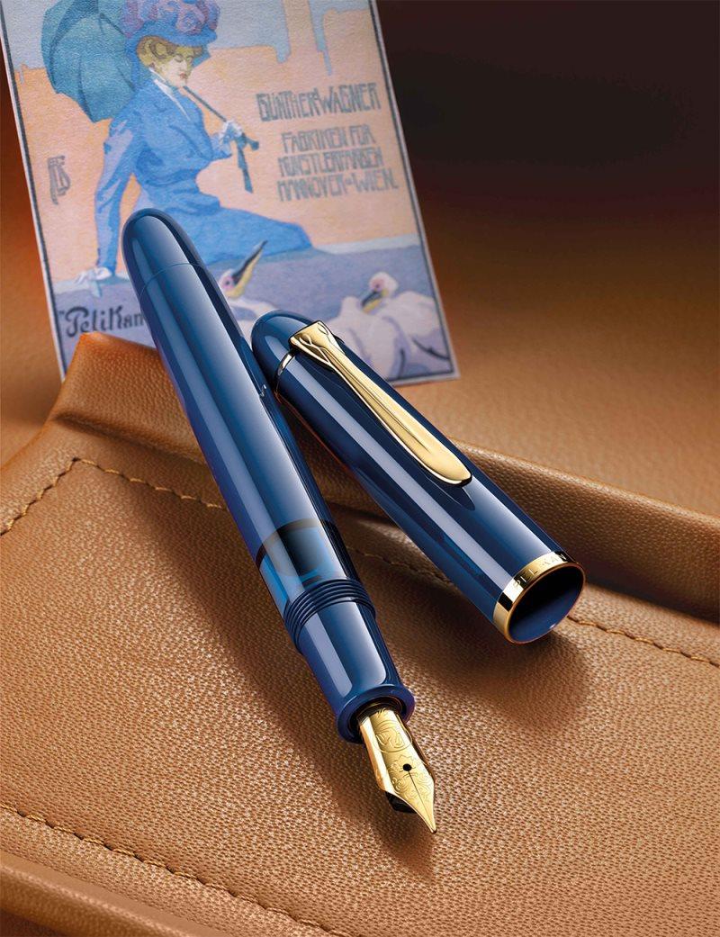 ペリカン M120 アイコニックブルー 万年筆