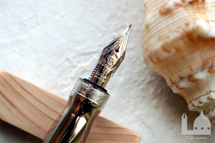 ピナイダー 限定生産品 ラグランデベレッツァ フォージドカーボン 万年筆