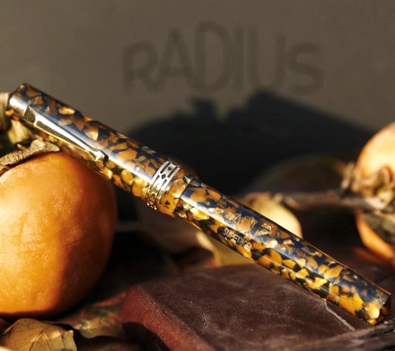 ラディウス スーペリア プリミッシマ マナローラアンバー 万年筆