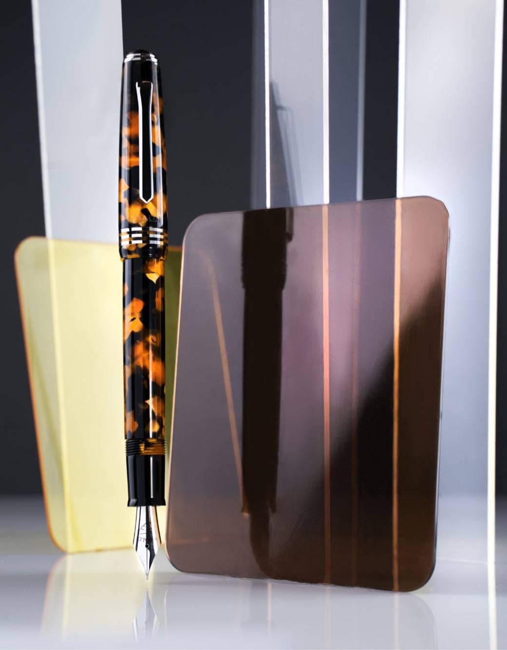 ティバルディ モデル60 万年筆 オレンジ
