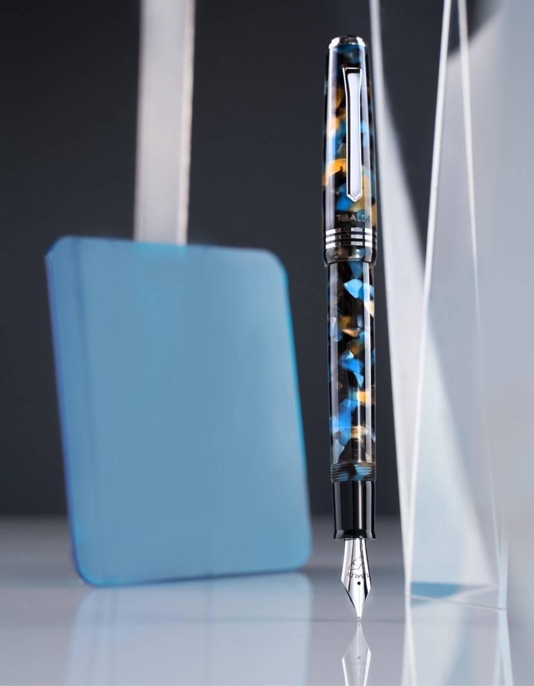 ティバルディ モデル60 万年筆 ブルー