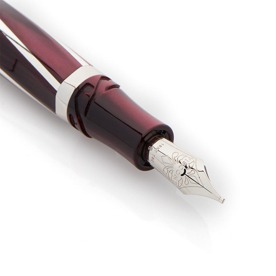 ビスコンティ ディヴィーナ エレガンス ボルドー オーバーサイズ 万年筆 Visconti Divina Elegance Oversize Bordeaux Fountain Pen