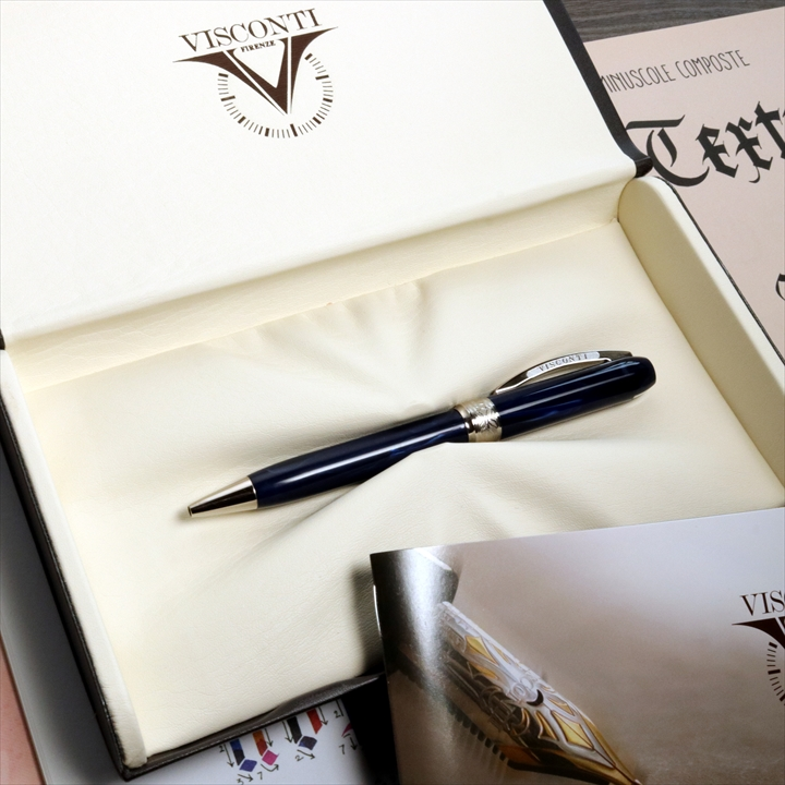 ビスコンティ レンブラント ブルー ボールペン